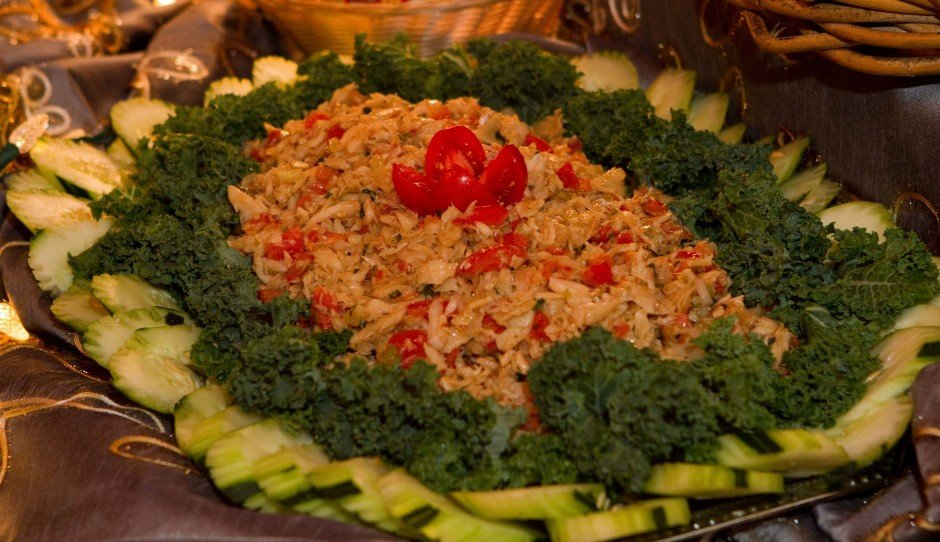 Saltfish Buljol Salad