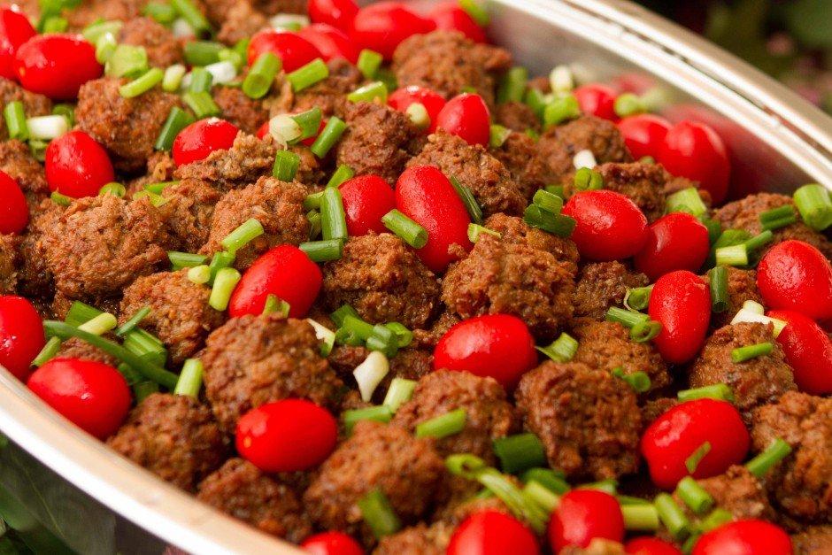 Asian Style Vegetarian Meatballs